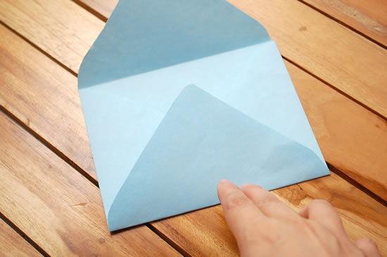 Criando um envelope de papel passo a passo