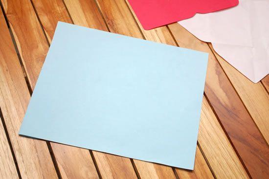 Como fazer um envelope de papel passo a passo