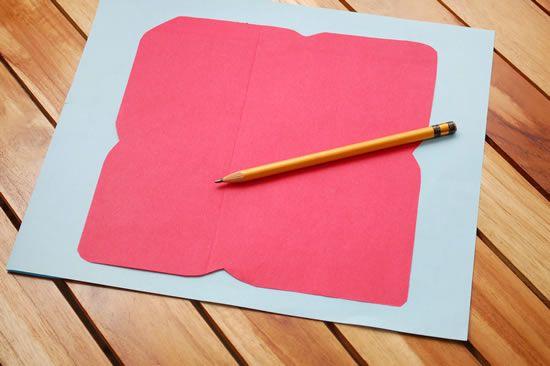 Como fazer um envelope de papel de uma maneira fácil