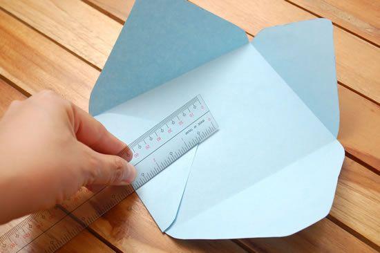Como fazer um envelope passo a passo