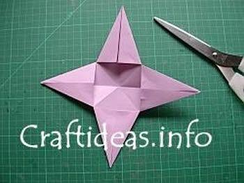 Como criar uma estrela com papel