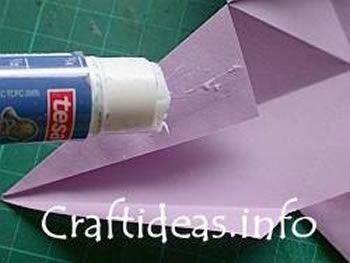 Como criar uma linda estrela com origami