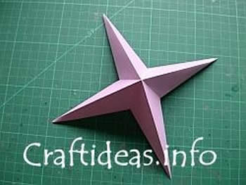 Como criar uma estrela de origami passo a passo