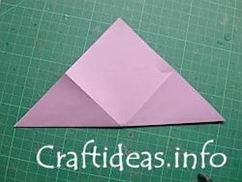 Como fazer estrela de origami passo a passo