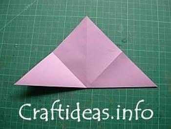 Como estrela com papel de origami