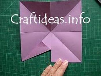 Como fazer uma estrela com papel de origami