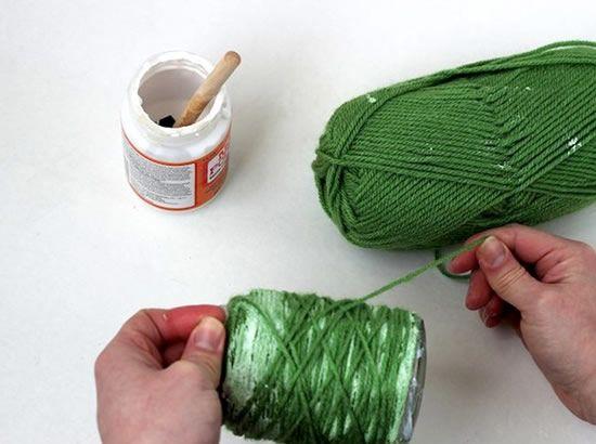 Criando potinhos de vidro decorados para plantas