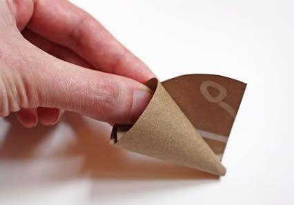 Decoração com papel crepom