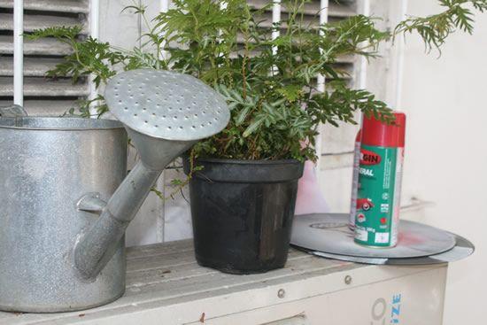 Materiais para a decoração de jardim