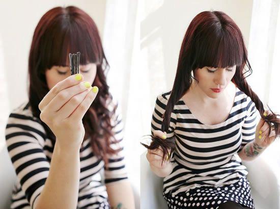 Como fazer um penteado transado no cabelo