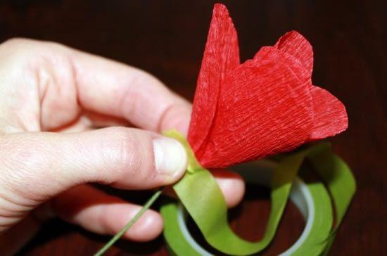 Criando flores de papel passo a passo