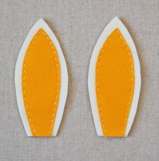 Orelhinhas costuradas