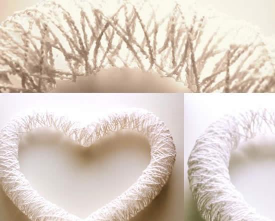 Coração para decoração da casa passo a passo