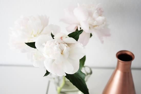 Jarrinho de flor para decorar a sala