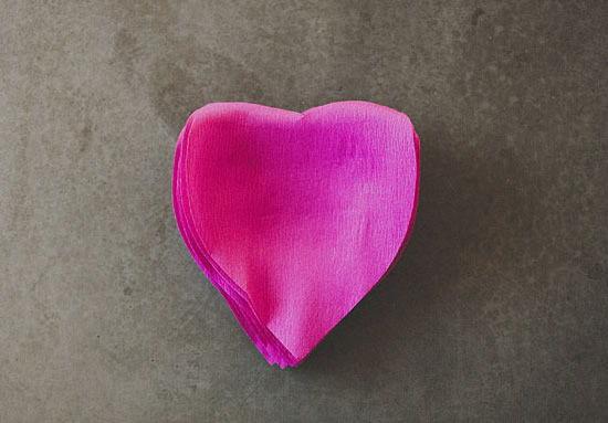 Rosa de papel crepom - PAP