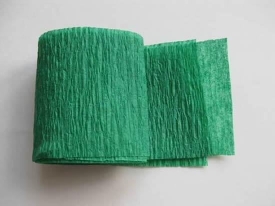 Como fazer flor de papel crepom passo a passo
