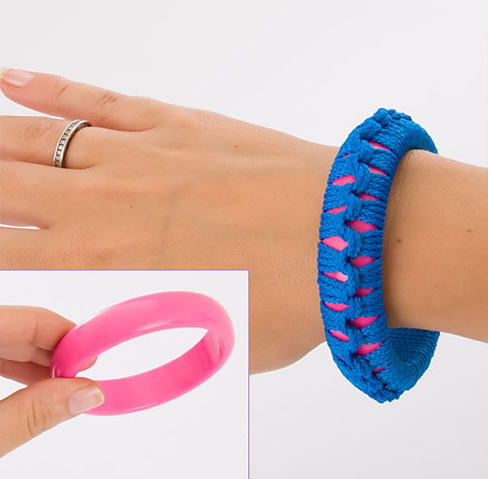 Como fazer pulseira com ponto macramê