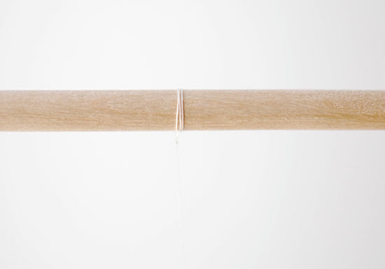 Passador de madeira para fazer artesanato