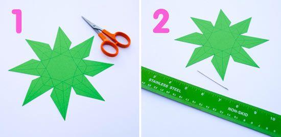 Como fazer uma decoração criativa com origami