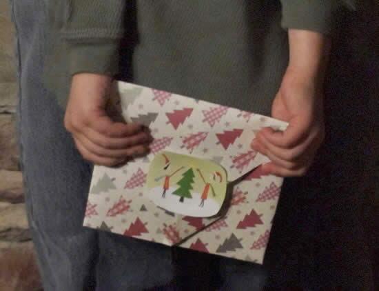 Como fazer envelope para presente passo a passo