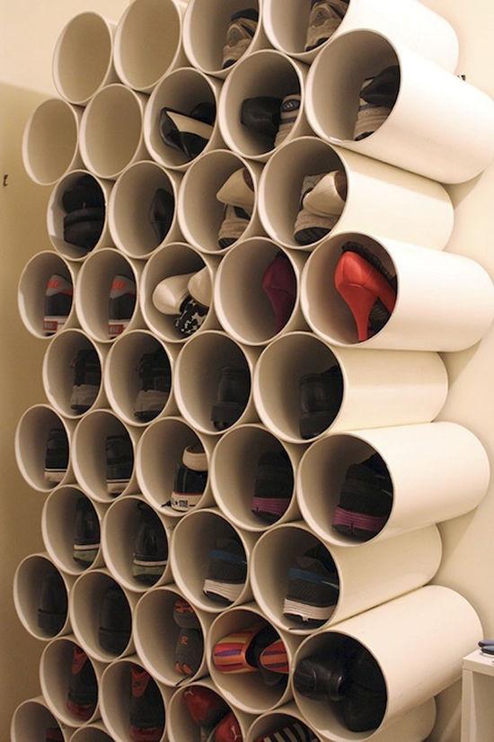 Tubos e canos PVC para fazer artesanato