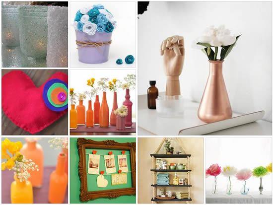 Artigos de decoração passo a passo para o Dia das Mães