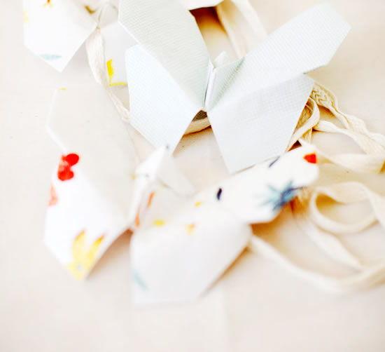 Borboletas de origami
