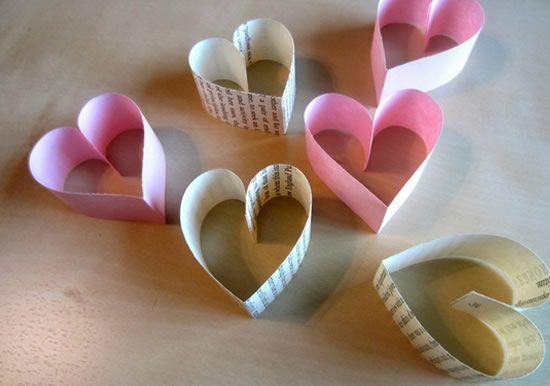 Corações para decoração passo a passo