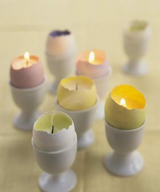 Decoração com velas artesanais
