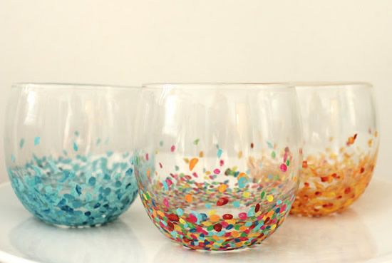 Como fazer vasos decorados passo a passo
