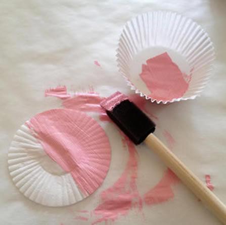 Forminhas de doces para criar artesanato