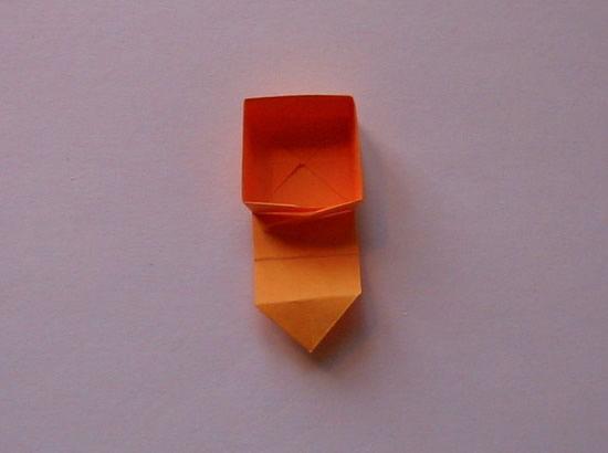 Criando a caixinha de origami passo a passo