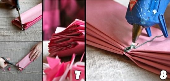 Como criar flor de papel passo a passo