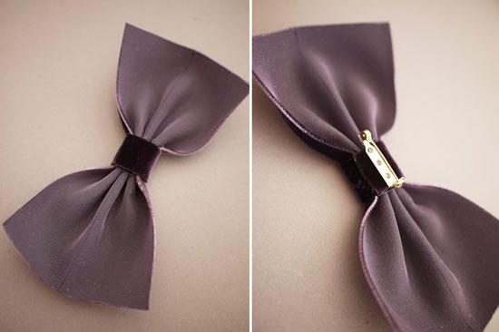 Arrematando a gravata borboleta