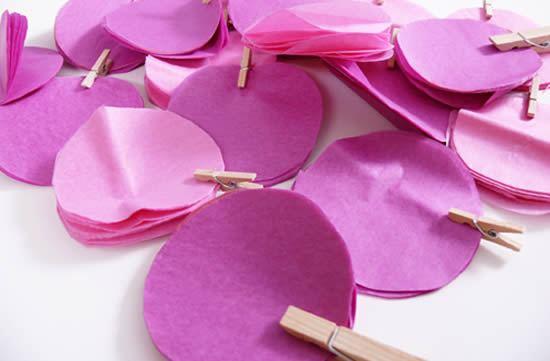 Confecção com papel de seda passo a passo