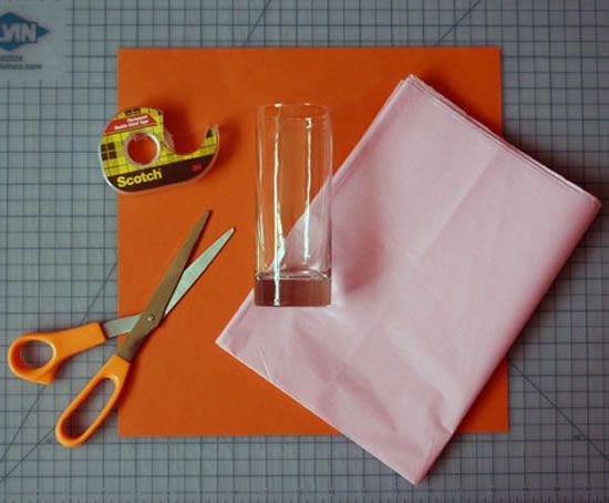 Materiais para criar decoração de Festa Junina