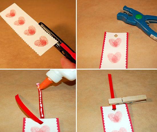 Marcador de papel de maneira fácil de fazer
