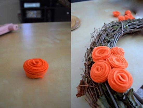 Como fazer rosa de feltro passo a passo
