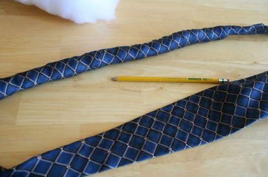 Como fazer cobrinha de tecido passo a passo