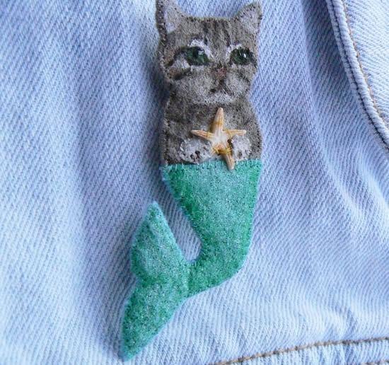 Como fazer um lindo gatinho de feltro