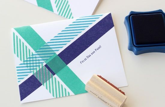 Passo a passo de como fazer um cartão personalizado para o Dia dos Pais