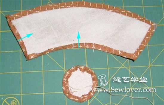 Criando o jarrinho de tecido
