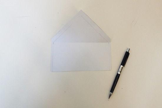 Como criar um lindo envelope para cartão