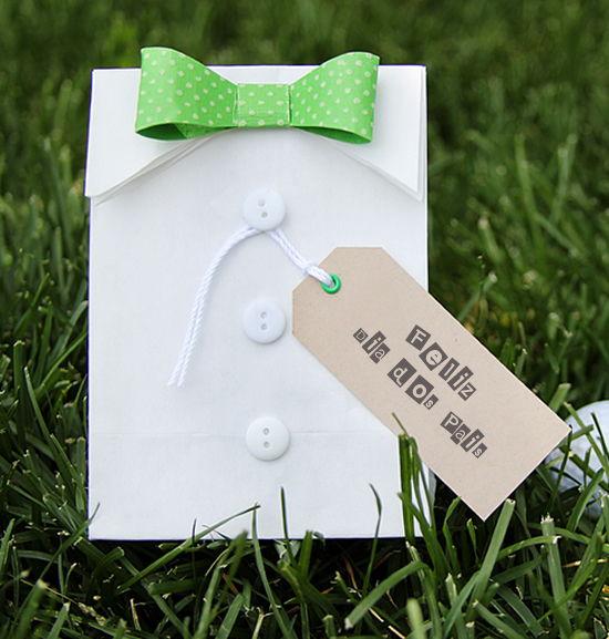 Embalagem especial para o Dia dos Pais divertida