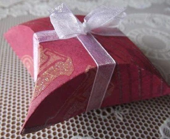 Caixinha artesanal para presente do Dia dos Pais