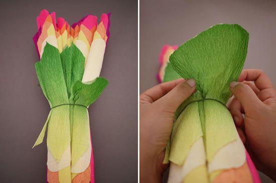 Abrindo as pétalas da flor gigante