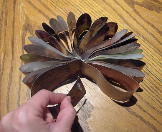Reciclando revistas velhas para fazer artesanato