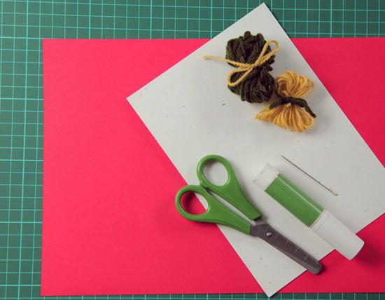 Materiais para criar artesanato para o Dia dos Pais