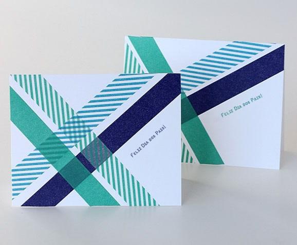 Armario Aberto Closet ~ Cartões artesanais para o Dia dos Pais