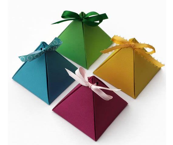 Como fazer caixinha colorida e personalizada